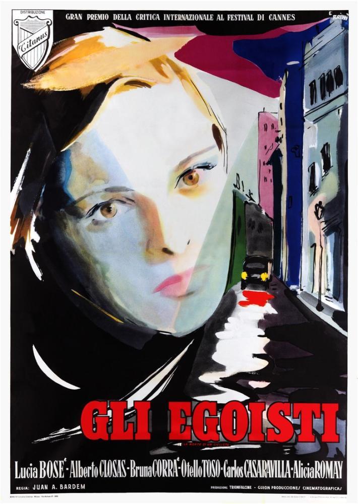 Bir Bisikletlinin Ölümü Film Posteri, Film Posteri, Poster Satış, all posters, kanvas tablo, canvas print sales