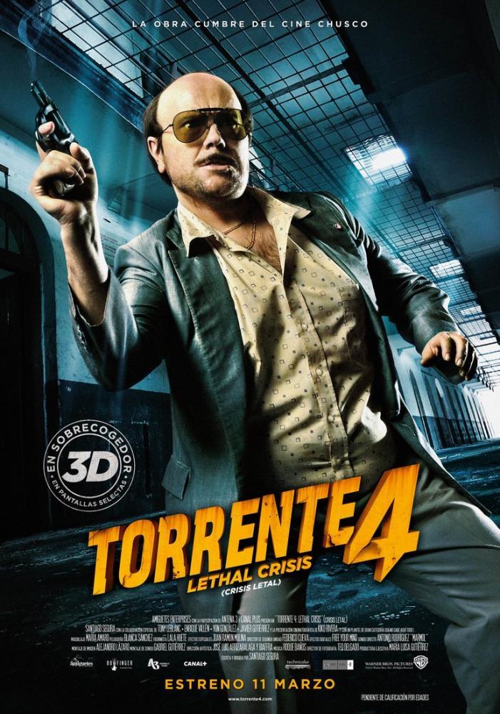 Torrente 4 Movie Poster, Movie Poster, Poster Satış, all posters, kanvas tablo, canvas print sales