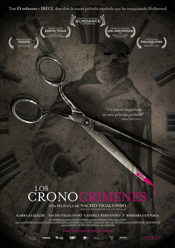 Los cronocrímenes Movie Poster, Movie Poster, Poster Satış, all posters, kanvas tablo, canvas print sales