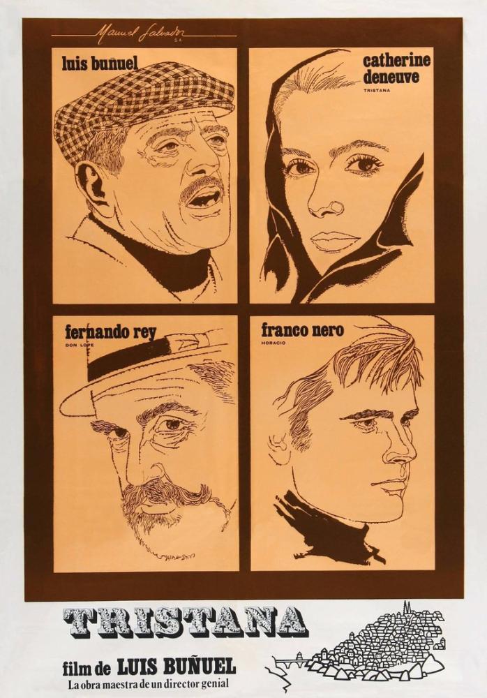 Tristana Film Posteri, Film Posteri, Poster Satış, all posters, kanvas tablo, canvas print sales