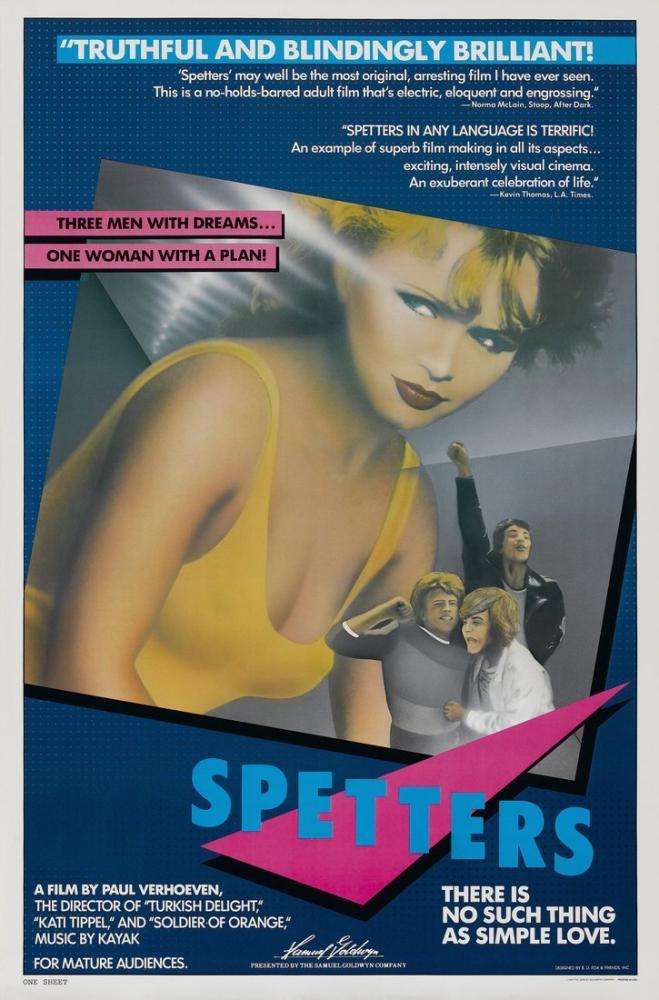Spetters 2 Film Posteri, Film Posteri, Poster Satış, all posters, kanvas tablo, canvas print sales