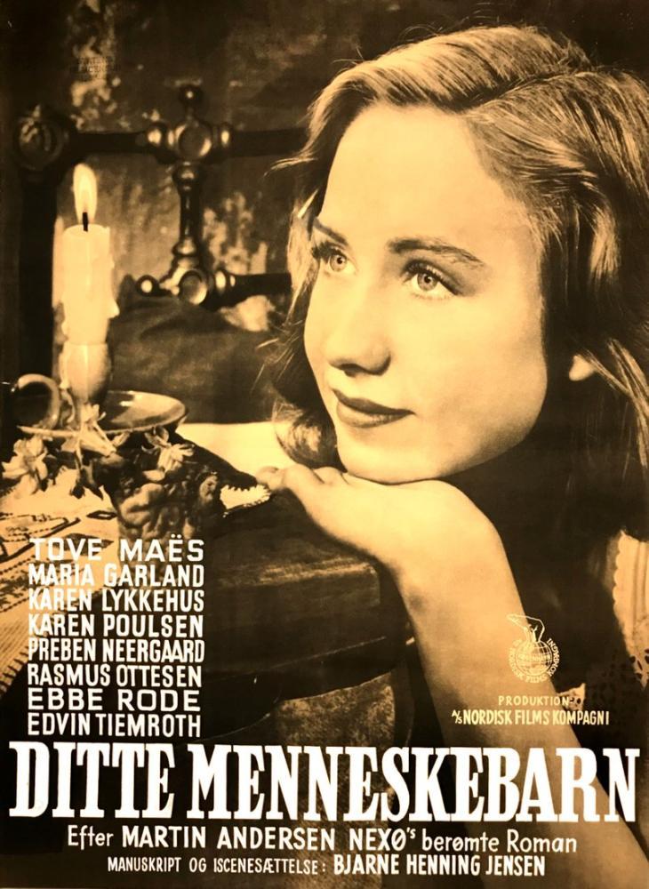 Ditte Menneskebarn Film Posteri, Film Posteri, Poster Satış, all posters, kanvas tablo, canvas print sales