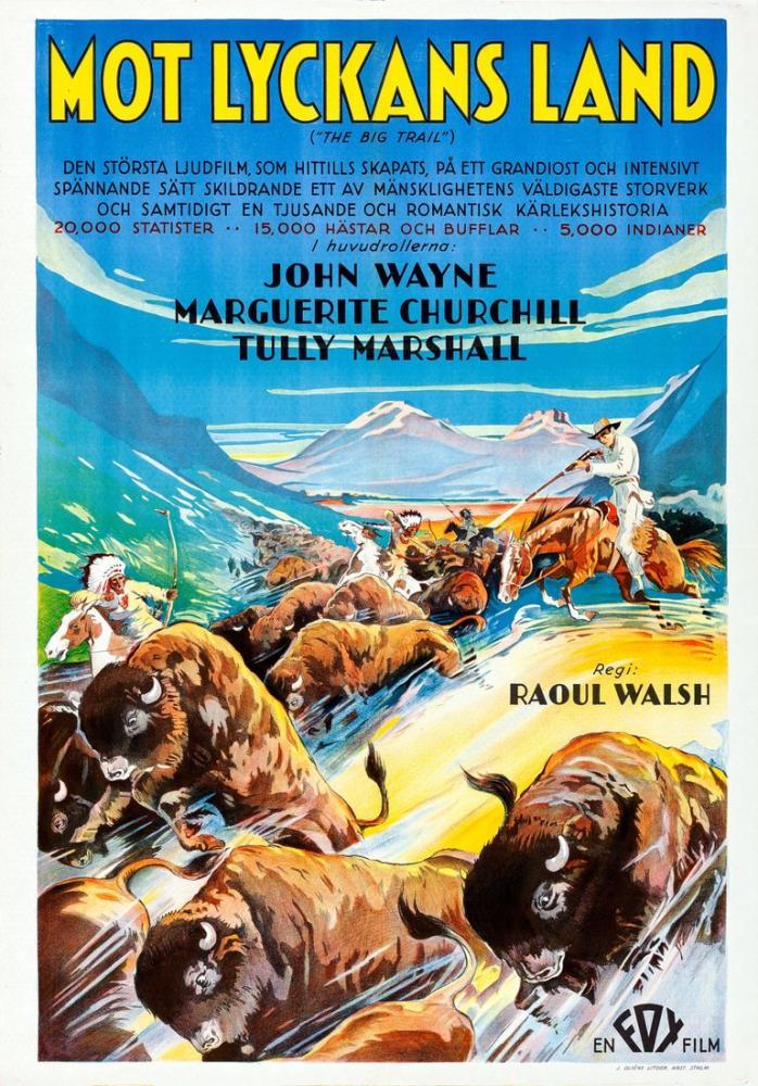 The Big Trail Film Posteri, Film Posteri, Poster Satış, all posters, kanvas tablo, canvas print sales