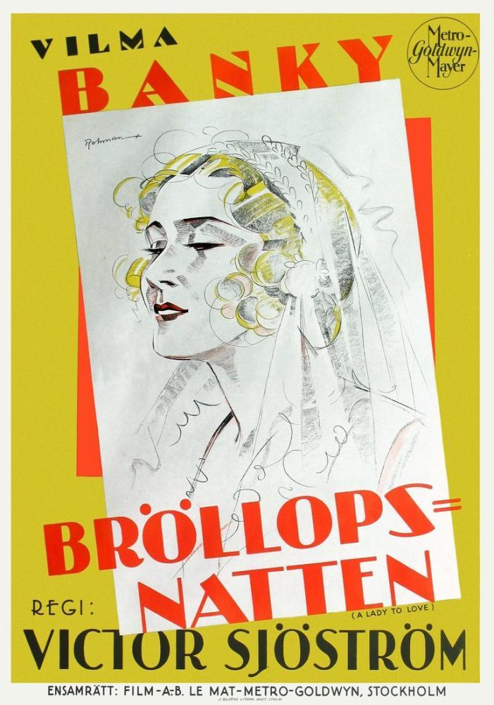 A Lady to Love Movie Poster, Movie Poster, Poster Satış, all posters, kanvas tablo, canvas print sales