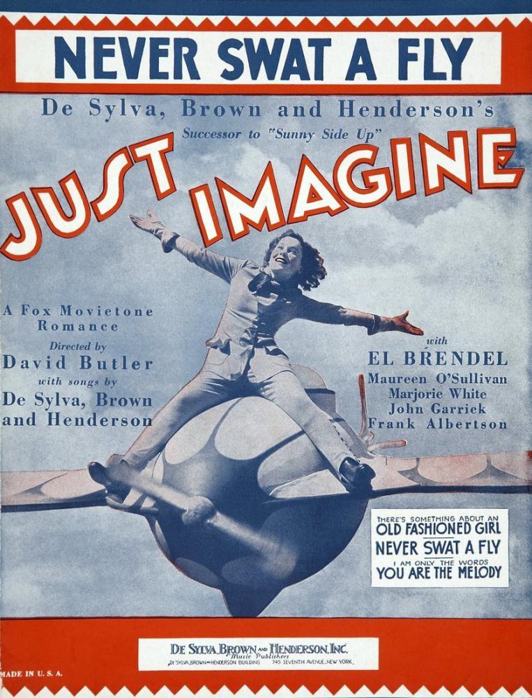 Just Imagine Film Posteri, Film Posteri, Poster Satış, all posters, kanvas tablo, canvas print sales