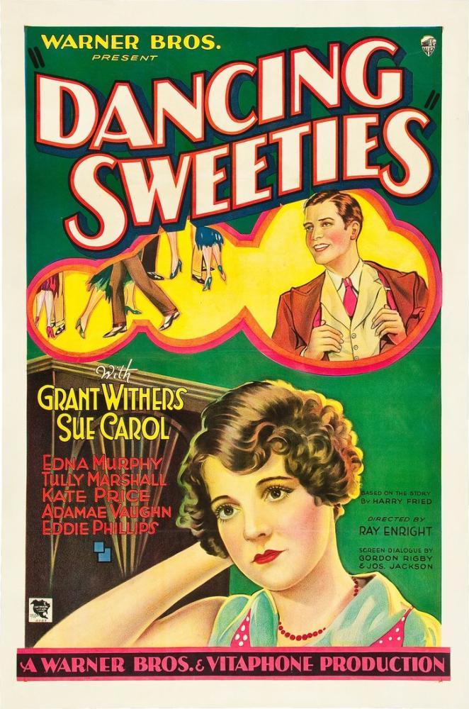 Dancing Sweeties Movie Poster, Movie Poster, Poster Satış, all posters, kanvas tablo, canvas print sales
