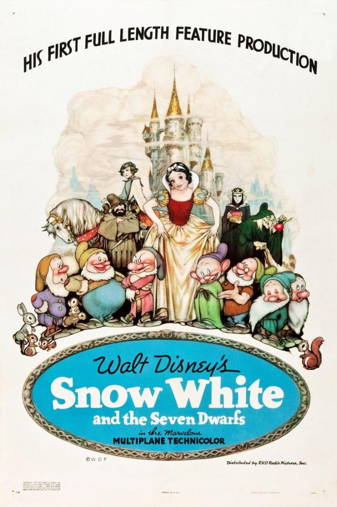 Snow White and the Seven Dwarfs 3 Movie Poster, Movie Poster, Poster Satış, all posters, kanvas tablo, canvas print sales