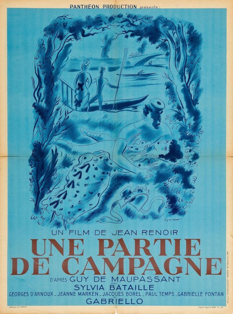 Partie de campagne Film Posteri, Film Posteri, Poster Satış, all posters, kanvas tablo, canvas print sales