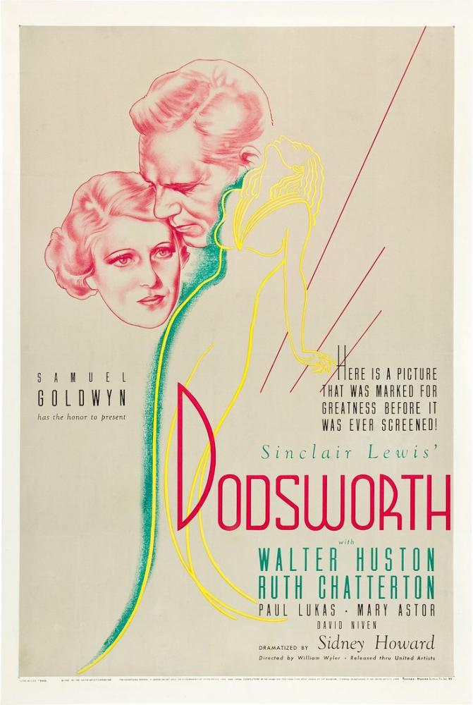 Dodsworth Movie Poster, Movie Poster, Poster Satış, all posters, kanvas tablo, canvas print sales