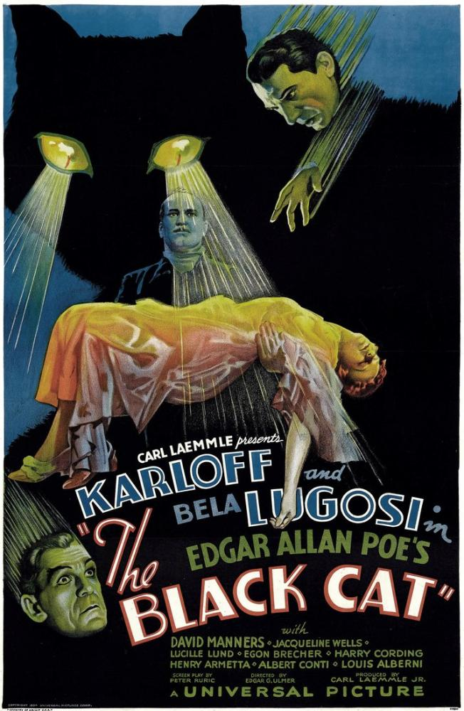 The Black Cat Film Posteri, Film Posteri, Poster Satış, all posters, kanvas tablo, canvas print sales