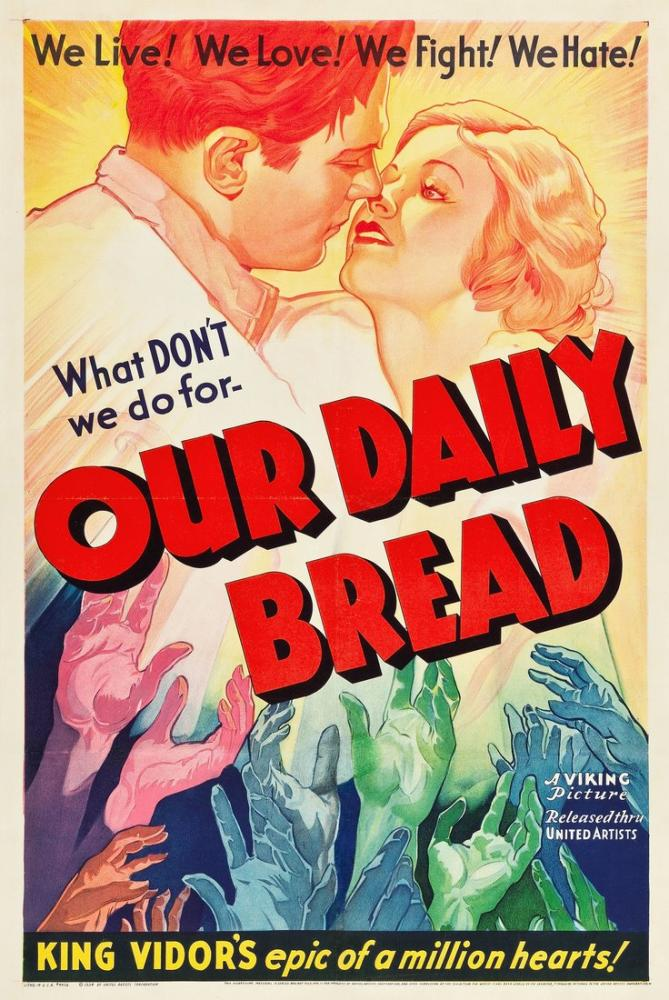 Our Daily Bread Movie Poster, Movie Poster, Poster Satış, all posters, kanvas tablo, canvas print sales