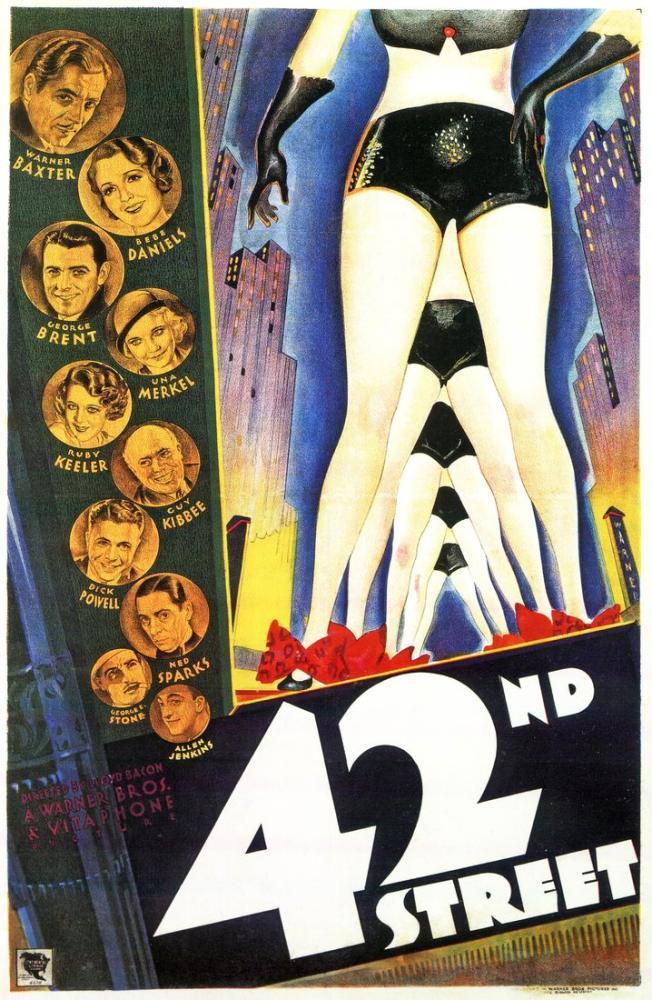 42. Sokak Film Posteri, Film Posteri, Poster Satış, all posters, kanvas tablo, canvas print sales