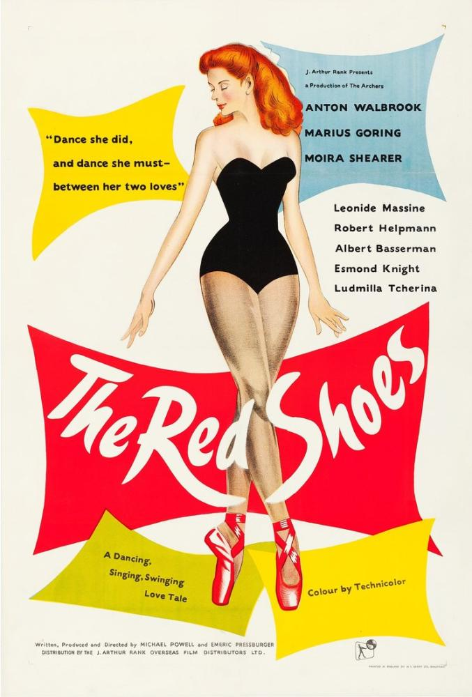Kırmızı Pabuçlar Film Posteri, Film Posteri, Poster Satış, all posters, kanvas tablo, canvas print sales