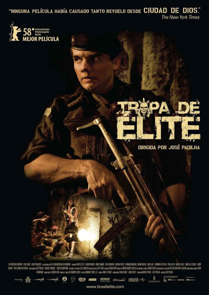Elite Squad Movie Poster, Movie Poster, Poster Satış, all posters, kanvas tablo, canvas print sales