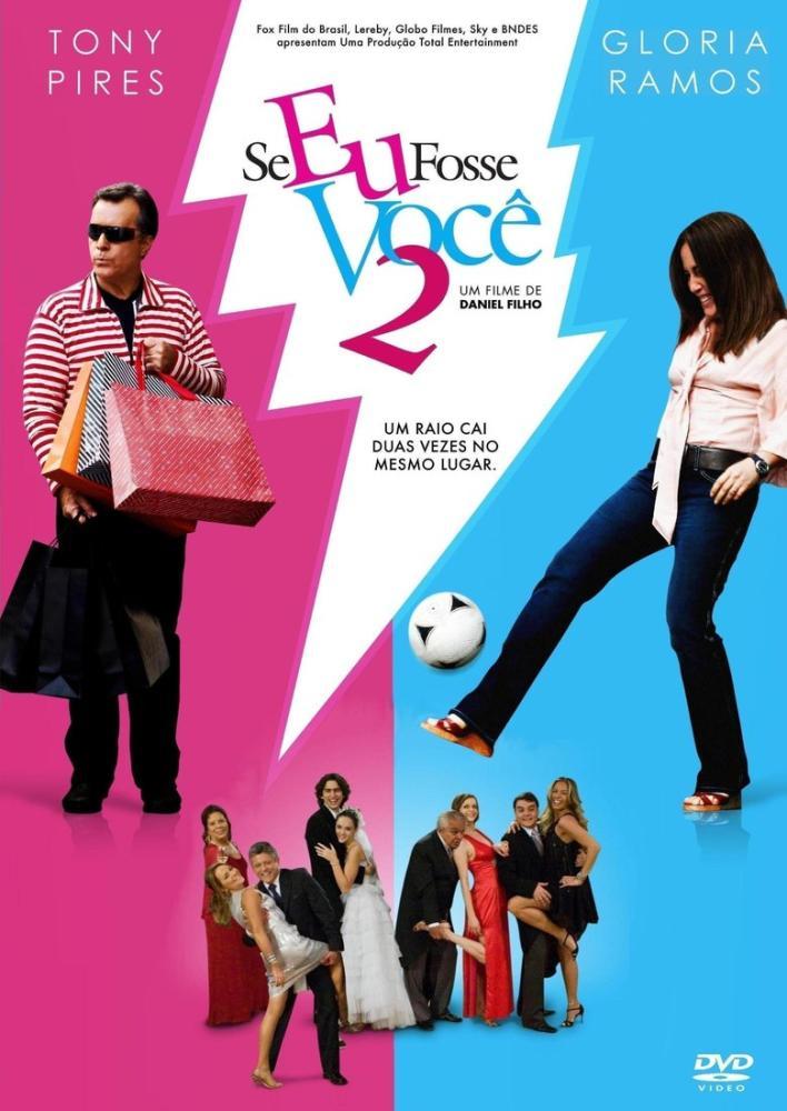 Se Eu Fosse Você 2 Movie Poster, Movie Poster, Poster Satış, all posters, kanvas tablo, canvas print sales