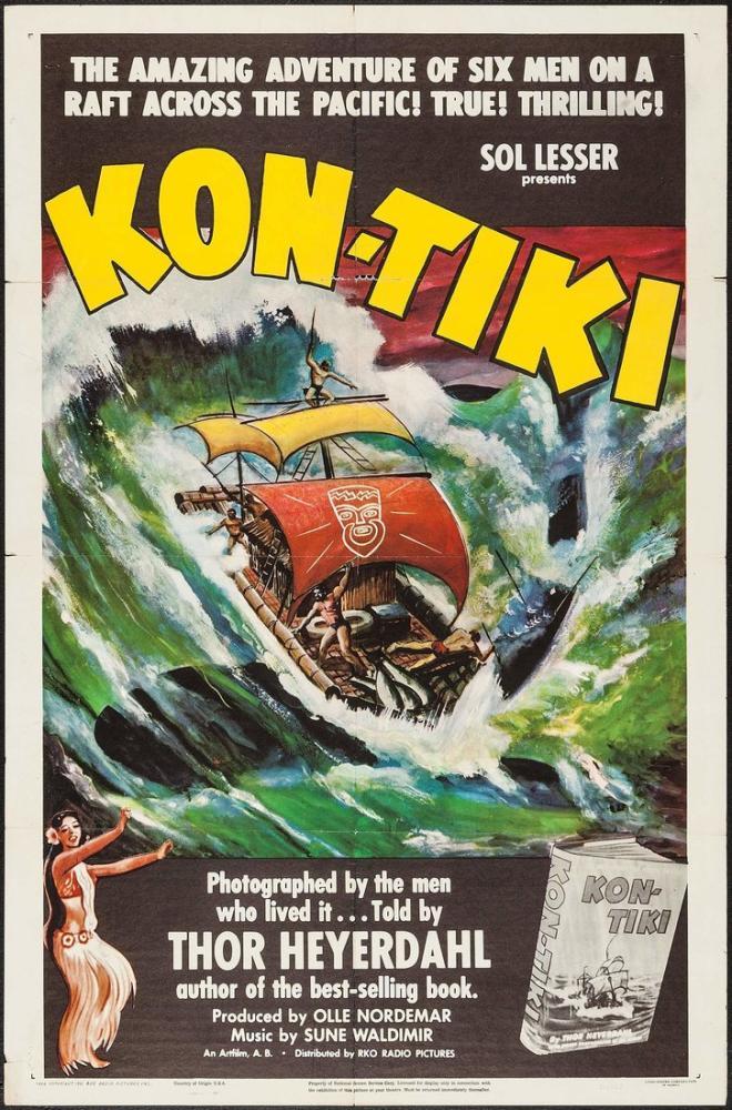 Kon-Tiki 4 Film Posteri, Film Posteri, Poster Satış, all posters, kanvas tablo, canvas print sales