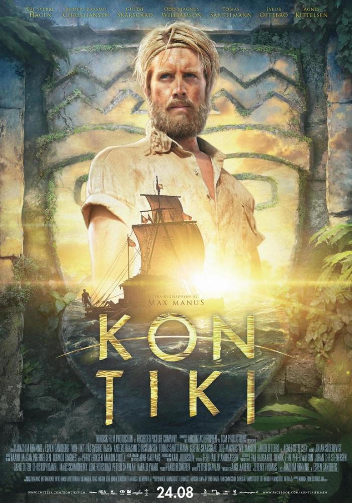 Kon-Tiki Movie Poster, Movie Poster, Poster Satış, all posters, kanvas tablo, canvas print sales