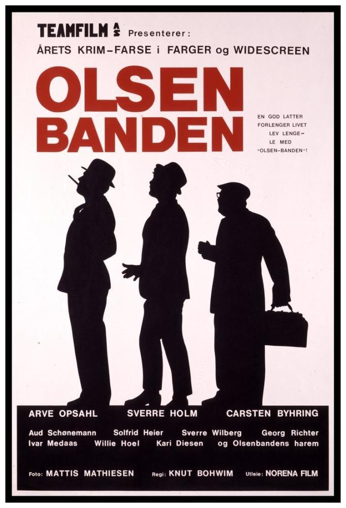 Olsen-banden Movie Poster, Movie Poster, Poster Satış, all posters, kanvas tablo, canvas print sales