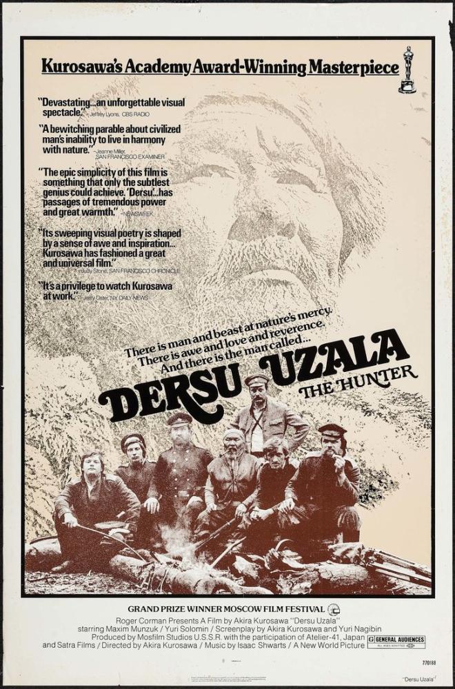 Dersu Uzala Film Posteri, Film Posteri, Poster Satış, all posters, kanvas tablo, canvas print sales