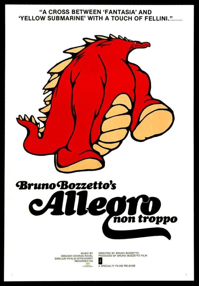 Allegro Non Troppo Movie Poster, Movie Poster, Poster Satış, all posters, kanvas tablo, canvas print sales