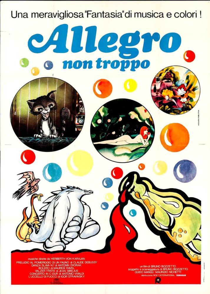 Allegro Non Troppo 2 Movie Poster, Movie Poster, Poster Satış, all posters, kanvas tablo, canvas print sales