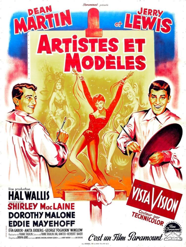 Artists and Models Movie Poster, Movie Poster, Poster Satış, all posters, kanvas tablo, canvas print sales
