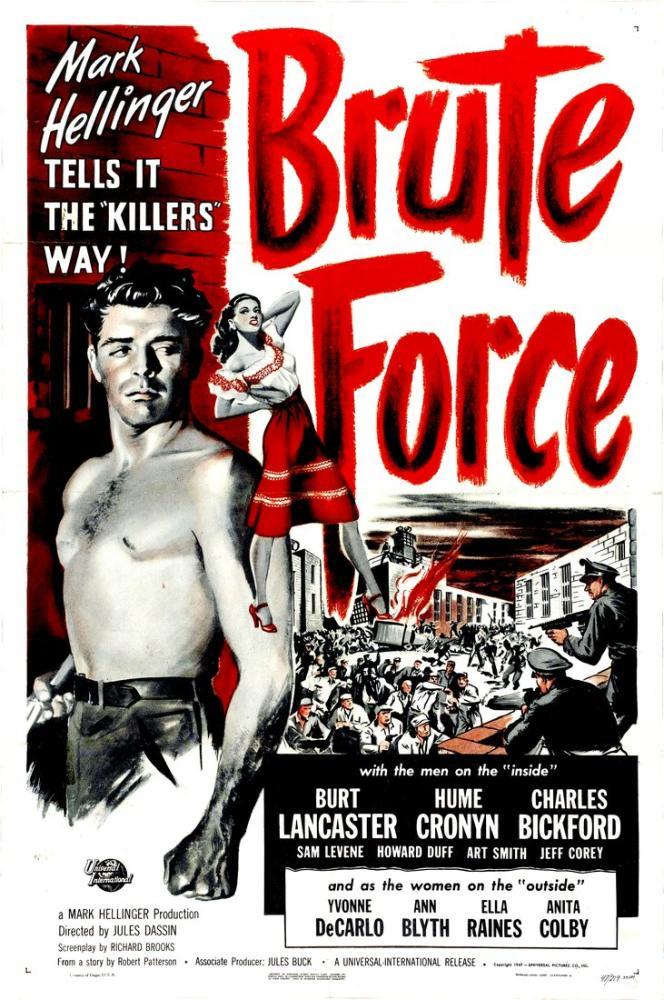 Brute Force Movie Poster, Movie Poster, Poster Satış, all posters, kanvas tablo, canvas print sales