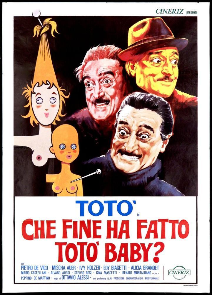 Che fine ha fatto Totò baby? Film Posteri, Film Posteri, Poster Satış, all posters, kanvas tablo, canvas print sales