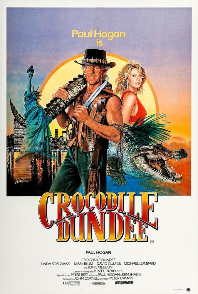 Crocodile Dundee 2 Movie Poster, Movie Poster, Poster Satış, all posters, kanvas tablo, canvas print sales