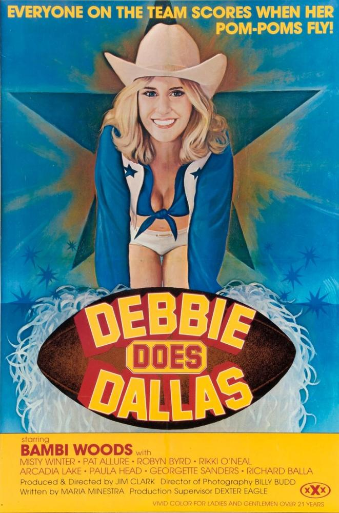 Debbie Does Dallas Movie Poster, Movie Poster, Poster Satış, all posters, kanvas tablo, canvas print sales