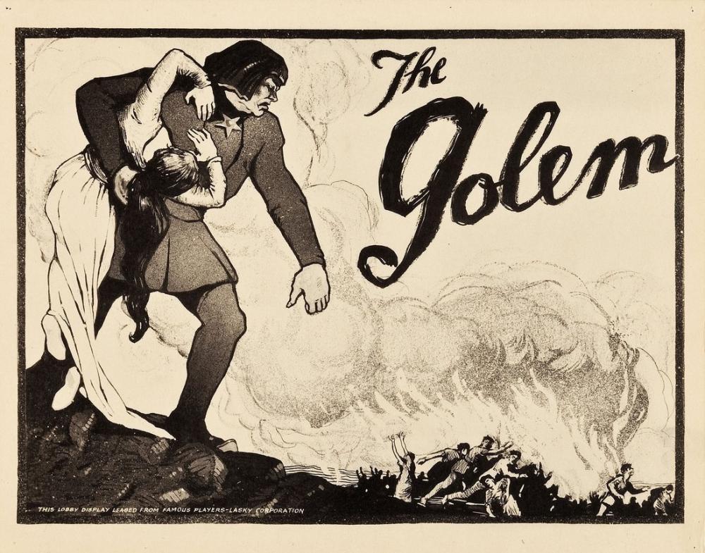 Der Golem, wie er in die Welt kam Movie Poster, Movie Poster, Poster Satış, all posters, kanvas tablo, canvas print sales