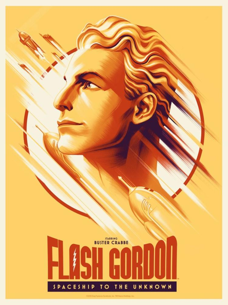 Flash Gordon Movie Poster, Movie Poster, Poster Satış, all posters, kanvas tablo, canvas print sales