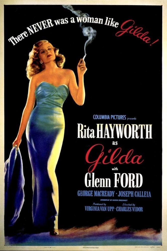 Gilda Movie Poster, Movie Poster, Poster Satış, all posters, kanvas tablo, canvas print sales