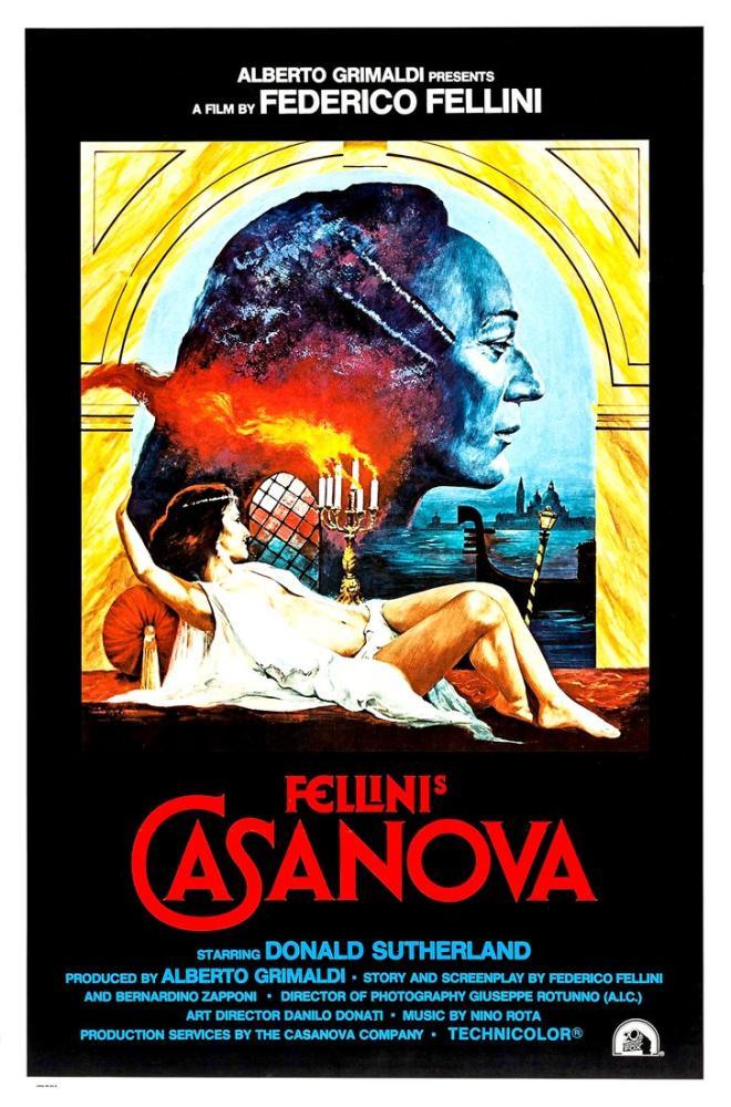 Il Casanova di Federico Fellini Movie Poster, Movie Poster, Poster Satış, all posters, kanvas tablo, canvas print sales