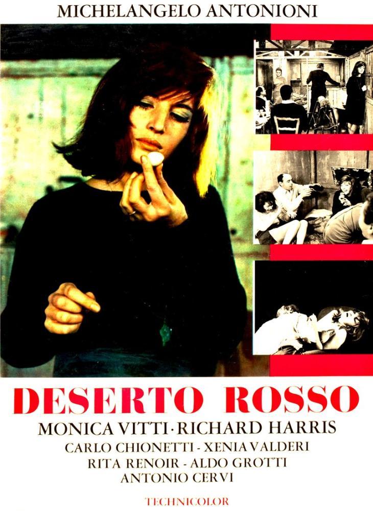 Red Desert Movie Poster, Movie Poster, Poster Satış, all posters, kanvas tablo, canvas print sales