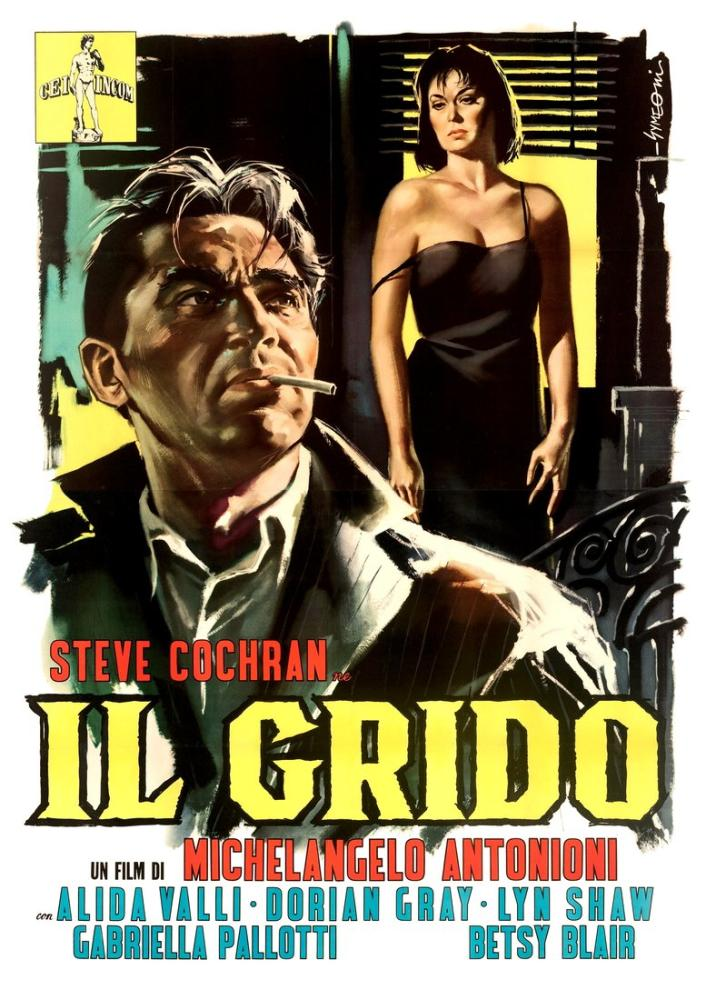 Il Grido Movie Poster, Movie Poster, Poster Satış, all posters, kanvas tablo, canvas print sales