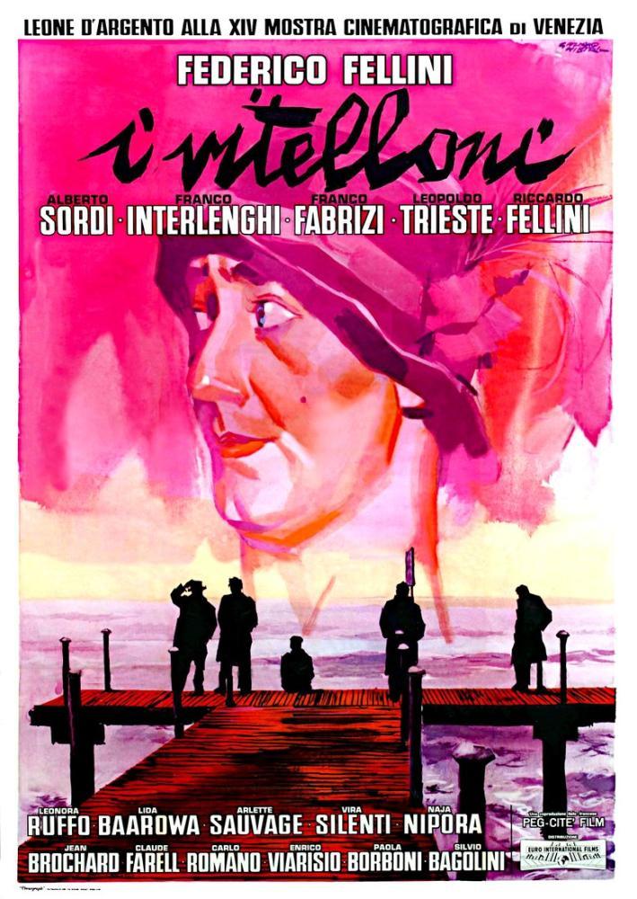I Vitelloni Movie Poster, Movie Poster, Poster Satış, all posters, kanvas tablo, canvas print sales