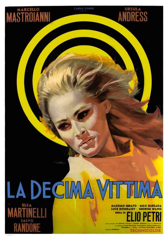 The 10th Victim 3 Movie Poster, Movie Poster, Poster Satış, all posters, kanvas tablo, canvas print sales
