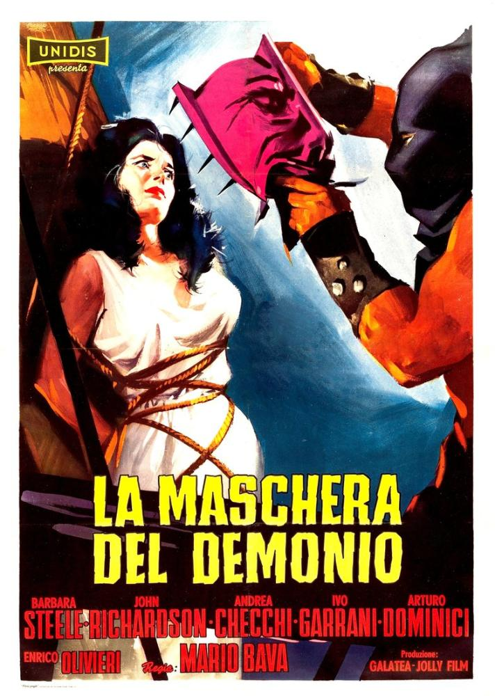 La maschera del demonio Movie Poster, Movie Poster, Poster Satış, all posters, kanvas tablo, canvas print sales