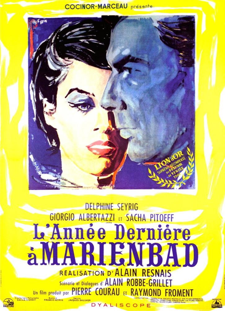 Last Year at Marienbad Movie Poster, Movie Poster, Poster Satış, all posters, kanvas tablo, canvas print sales