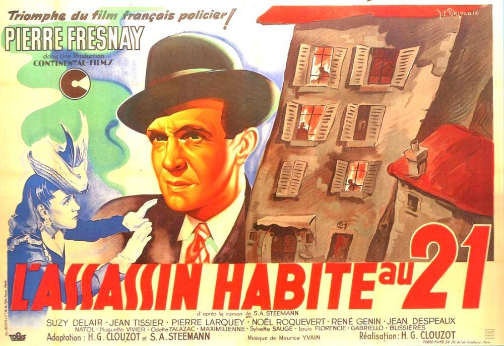 The Murderer Lives at Number 21 Film Posteri, Film Posteri, Poster Satış, all posters, kanvas tablo, canvas print sales