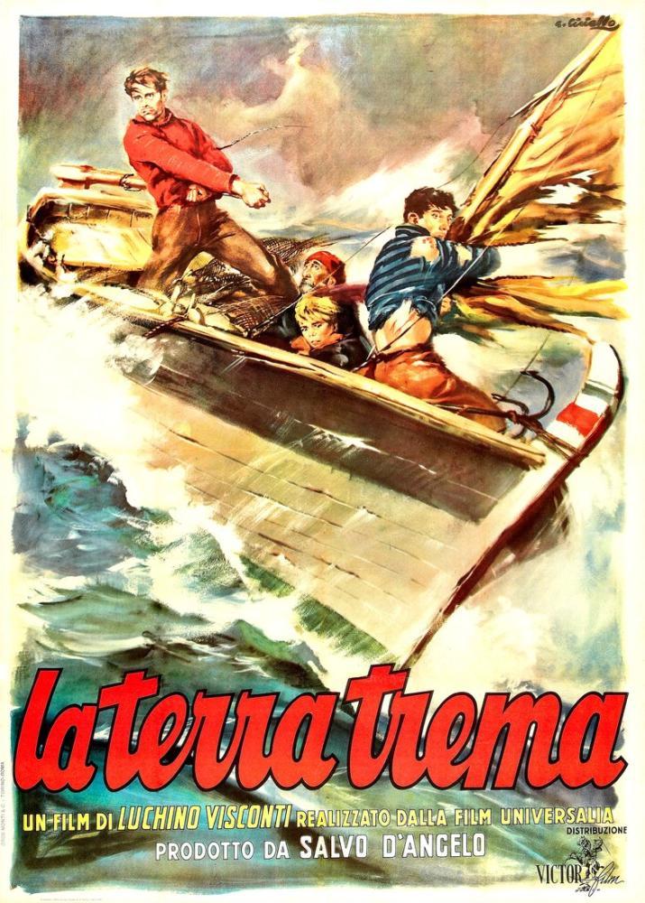 La terra trema Movie Poster, Movie Poster, Poster Satış, all posters, kanvas tablo, canvas print sales