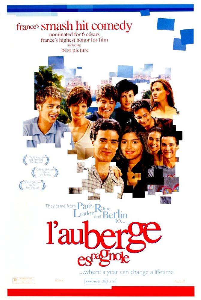 L Auberge espagnole Movie Poster, Movie Poster, Poster Satış, all posters, kanvas tablo, canvas print sales