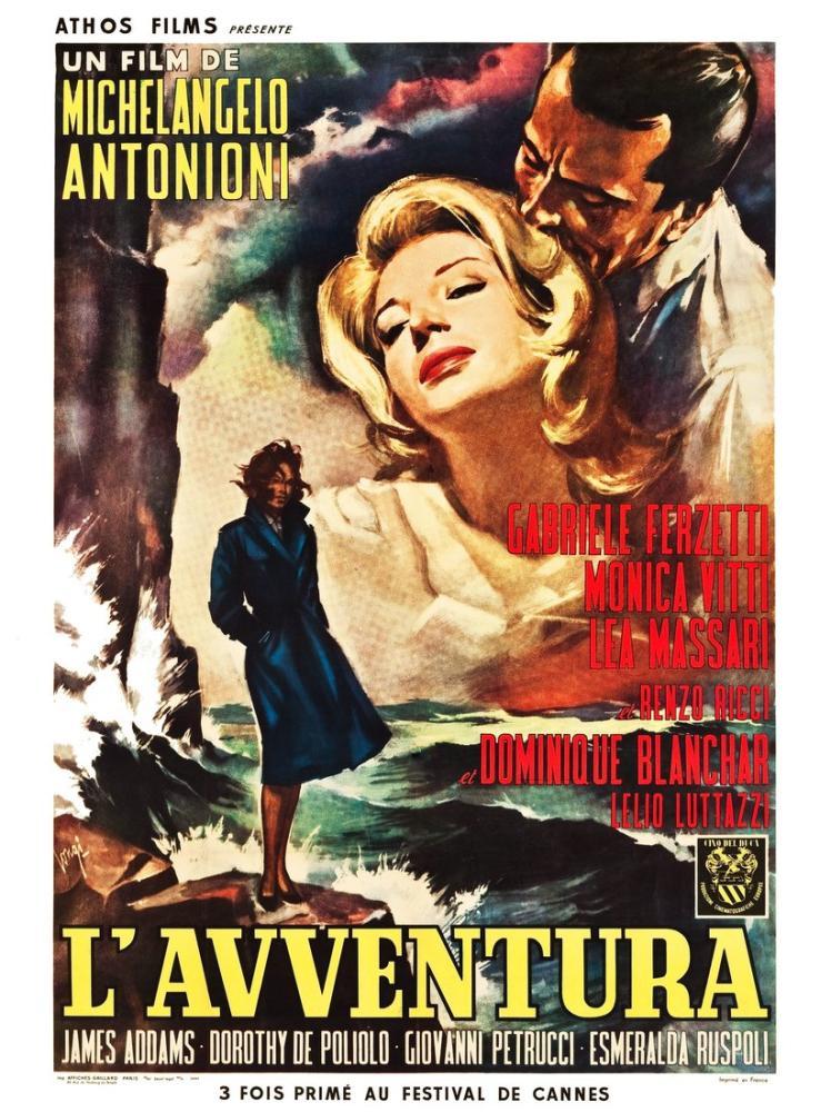 L Avventura Movie Poster, Movie Poster, Poster Satış, all posters, kanvas tablo, canvas print sales