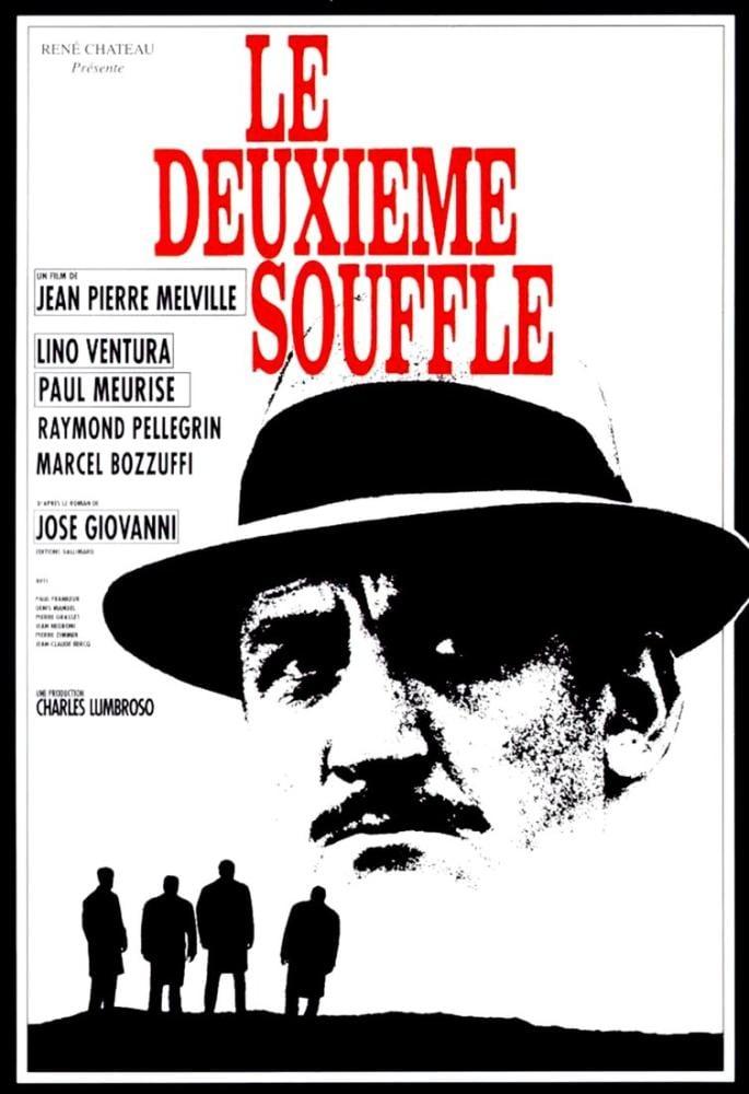 Le Deuxième Souffle Movie Poster, Movie Poster, Poster Satış, all posters, kanvas tablo, canvas print sales