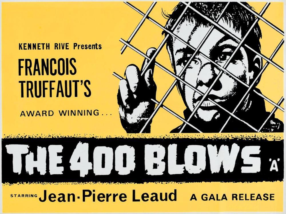 Les Quatre Cents Coups Movie Poster, Movie Poster, Poster Satış, all posters, kanvas tablo, canvas print sales