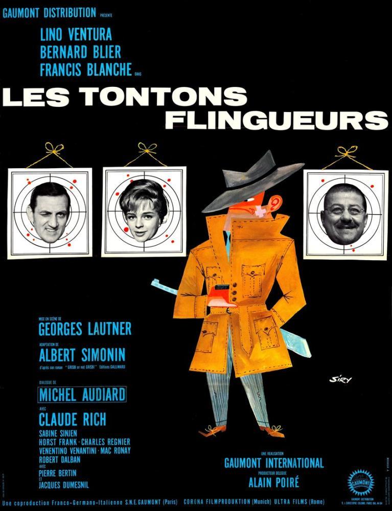 Les Tontons flingueurs Film Posteri, Film Posteri, Poster Satış, all posters, kanvas tablo, canvas print sales