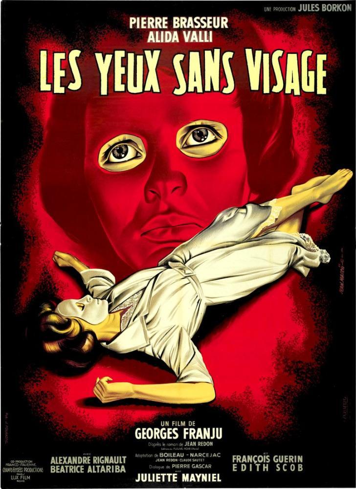 Les Yeux sans visage 2 Movie Poster, Movie Poster, Poster Satış, all posters, kanvas tablo, canvas print sales