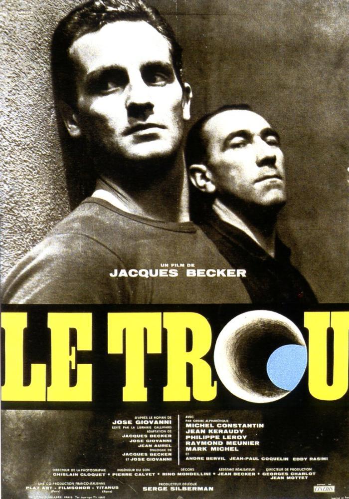Le Trou Movie Poster, Movie Poster, Poster Satış, all posters, kanvas tablo, canvas print sales