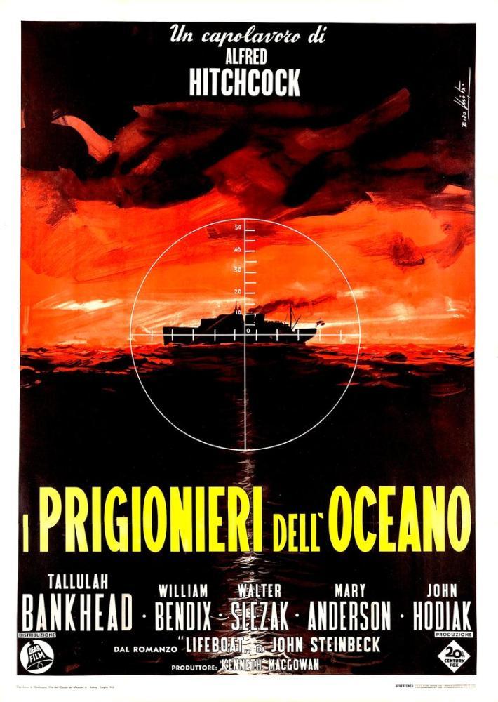 Lifeboat Movie Poster, Movie Poster, Poster Satış, all posters, kanvas tablo, canvas print sales
